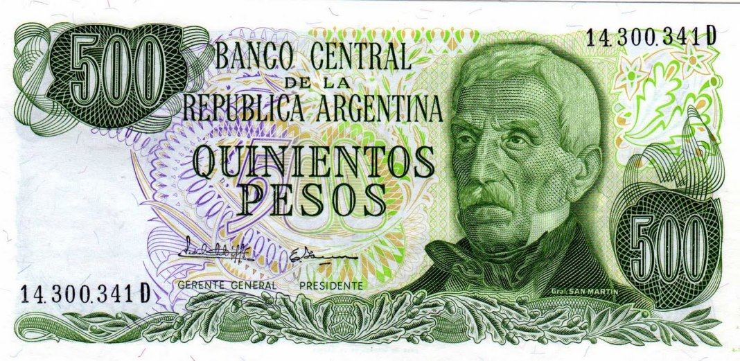 billete 500 pesos
