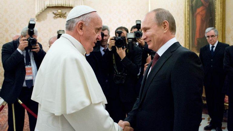 Francisco y Putin forman parte de la lista