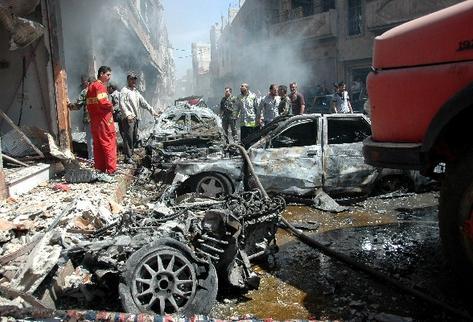 siria coche bomba