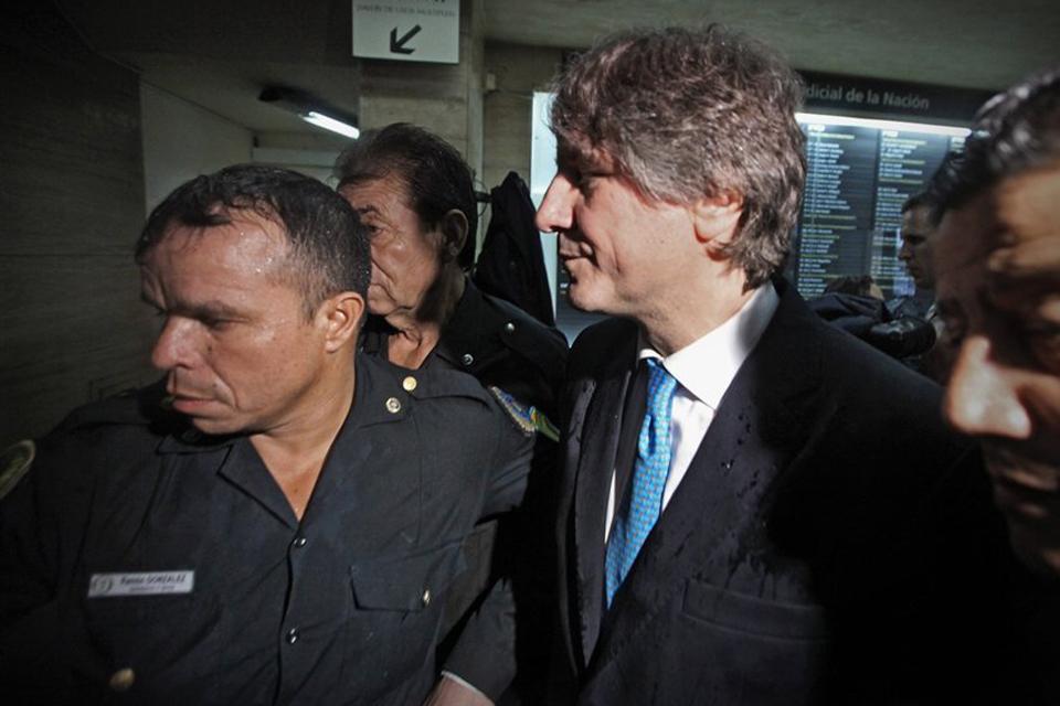 Boudou en febrero de éste año al ir a declarar a los tribunales de Comodoro Py  Foto: Archivo / Ricardo Pristupluk / LA NACION