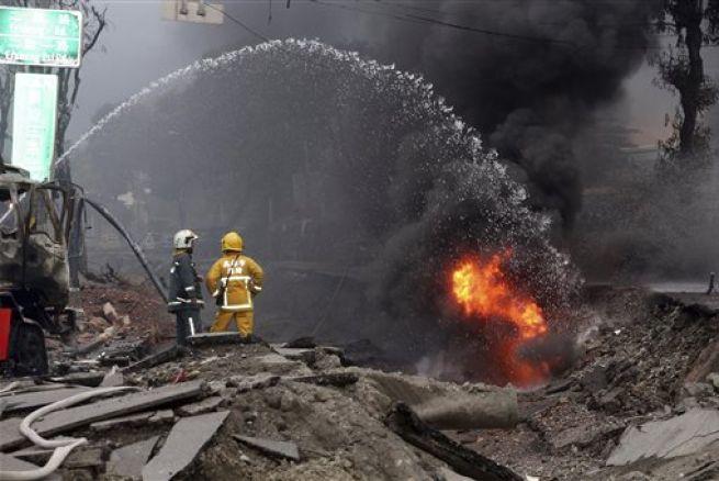taiwan explosion