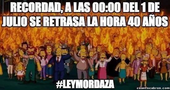 """Uno de los tantos """"memes"""" que ha circulado en las redes. Este en particular hace referencia a la época franquista."""